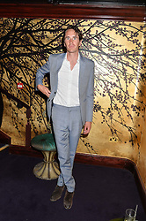 OTIS FERRY at a party to celebrate the launch of the Dee Ocleppo 2015 Pre Fall Collection benefiting the Walkabout Foundation held at Loulou's, 5 Hertford Street, London on 16th June 2015.