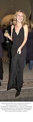 Model EVA HERZIGOVA at a party in London on 29th January 2002.<br />OWZ 323 wolo
