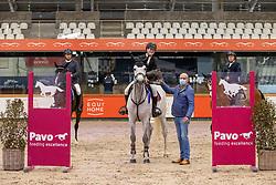 Kennis Pieter, BEL, Chapper<br /> Pavo Hengsten competitie - Oudsbergen 2021<br /> © Hippo Foto - Dirk Caremans<br />  22/02/2021