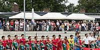 ALKMAAR -  genodigden bij HC Alkmaar. . hockey oefenwedstrijd mannen. Nederland-Spanje (2-0) , Rabo Super Serie.  COPYRIGHT  KOEN SUYK