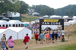 June 24, 2018 - Cromwell, Connecticut, United States - General atmosphere near the Fan Zone during the final round of the Travelers Championship at TPC River Highlands. (Credit Image: © Debby Wong via ZUMA Wire)