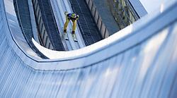 31.12.2017, Olympiaschanze, Garmisch Partenkirchen, GER, FIS Weltcup Ski Sprung, Vierschanzentournee, Garmisch Partenkirchen, Training, im Bild Noriaki Kasai (JPN) // Noriaki Kasai of Japan during his Practice Jump for the Four Hills Tournament of FIS Ski Jumping World Cup at the Olympiaschanze in Garmisch Partenkirchen, Germany on 2017/12/31. EXPA Pictures © 2017, PhotoCredit: EXPA/ Jakob Gruber