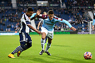 Stephane Sessegnon on the attack during the The FA Cup match between West Bromwich Albion and Gateshead at The Hawthorns, West Bromwich, England on 3 January 2015. Photo by Alan Franklin.