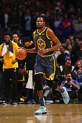 STYLEPREPENDLOS ANGELES, CA - NOVEMBER 12: Golden State Warriors Forward Kevin Durant (35) brings the ball up the court during a NBA game between the Golden State Warriors and the Los Angeles Clippers on November 12, 2018 at STAPLES Center in Los Angeles, CA. (Photo by Brian Rothmuller/Icon Sportswire) (Credit Image: © Brian Rothmuller/Icon SMI via ZUMA Press)