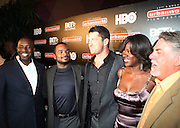 l to r: Stacy Spikes, F.Grary Gray, Gerad Butler, Viloa Davis and Bruce Gills at The 13th Annual UrbanWorld Film Festival Premiere of ' Law Abiding Citizen'  held at AMC 34th Street on September 23, 2009 in New York City