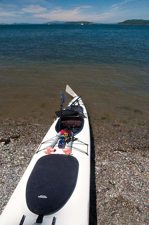 Kayaking in the San Juan Islands, Washington, US