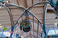 France, Côte-d'Or (21), Dijon, Paysage culturel des climats de Bourgogne classés Patrimoine Mondial de l'UNESCO, Halles Centrales construites par l'entreprise Eiffel en 1868 // France, Burgundy, Côte-d'Or, Dijon, Unesco world heritage site, central halls (market) build by Eiffel in 1868