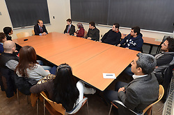 Turkish Ambassador to the United States, His Excellency Namik Tan visit Yale University. Roundtable Meeting with Yale Undergraduate and Graduate Programs Turkish Students   6 December 2012