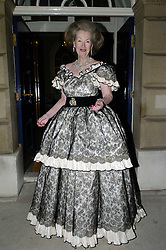 Countess Raine Spencer held her 70th Birthday Dinner at Spencer House<br /> The Countess Arrives for her Party