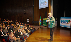 José Fortunati participa do encontro do PRB, na manhã deste sábado 07 de julho de 2012 no Auditório Dante Barone da Assembléia Legislativa do RS. FOTO: Jefferson Bernardes/Preview.com