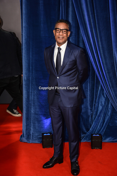 """James Lassiter attended """"The Harder They Fall"""" Opening Night Gala - 65th BFI London Film Festival, Southbank Centre, London, UK. 6 October 2021."""