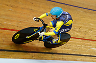 Women 500 mt Time Trial, Olena Starikova (Ukraine), during the Track Cycling European Championships Glasgow 2018, at Sir Chris Hoy Velodrome, in Glasgow, Great Britain, Day 5, on August 6, 2018 - Photo luca Bettini / BettiniPhoto / ProSportsImages / DPPI<br /> - Restriction / Netherlands out, Belgium out, Spain out, Italy out -