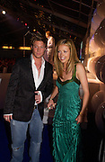 Cat Deeley and Duncan James from Blue, Glamour Magazine's Women of the Year Awards, Berkeley Sq. 8 June 2004. ONE TIME USE ONLY - DO NOT ARCHIVE  © Copyright Photograph by Dafydd Jones 66 Stockwell Park Rd. London SW9 0DA Tel 020 7733 0108 www.dafjones.com