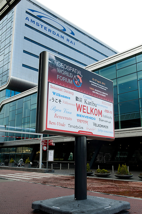 Nederland, Amsterdam, 26 april 2012.Geospatial World Forum.Rai, Amsterdam..Foto (c): Michiel Wijnbergh