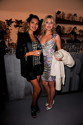 Left to right, GOGA ASHKENAZI and HOLLY VALANCE at the Royal Academy of Arts Summer Party held at Burlington House, Piccadilly, London on 9th June 2010.
