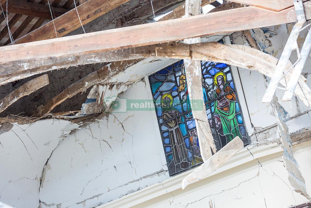 Earthquake in Valnerina. In the picture: Villa S. Antonio, a village of Visso - Province of Macerata NO WEB *** *** *** NO DAILY