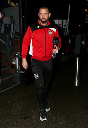 Aaron Wilbraham of Bristol City arrives at Highbury Stadium - Mandatory by-line: Matt McNulty/JMP - 17/01/2017 - FOOTBALL - Highbury Stadium - Fleetwood,  - Fleetwood Town v Bristol City - Emirates FA Cup Third Round Replay