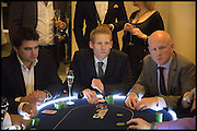 PAUL FRASER, Quintessentially Foundation Poker Night,  annual poker night,  to raise money for Right to play, Greenhouse and Place2Be. Savoy. 13 November 2014.
