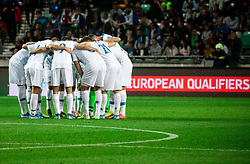 Team Slovenia during the 2020 UEFA European Championships group G qualifying match between Slovenia and Poland at SRC Stozice on September 6, 2019 in Ljubljana, Slovenia. Photo by Vid Ponikvar / Sportida