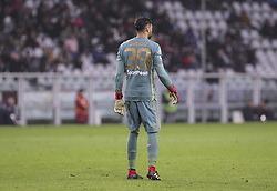 November 10, 2018 - Turin, Piedmont, Italy - Salvatore Sirigu (Torino FC) during the Serie A football match between Torino FC and Parma Calcio 1913 at Olympic Grande Torino Stadium on November 10, 2018 in Turin, Italy..Torino FC lost 1-2 over Parma. (Credit Image: © Massimiliano Ferraro/NurPhoto via ZUMA Press)