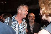 STEPHEN DALDRY; ALAN YENTOB; JULIA PEYTON-JONES, The Tanks at Tate Modern, opening. Tate Modern, Bankside, London, 16 July 2012