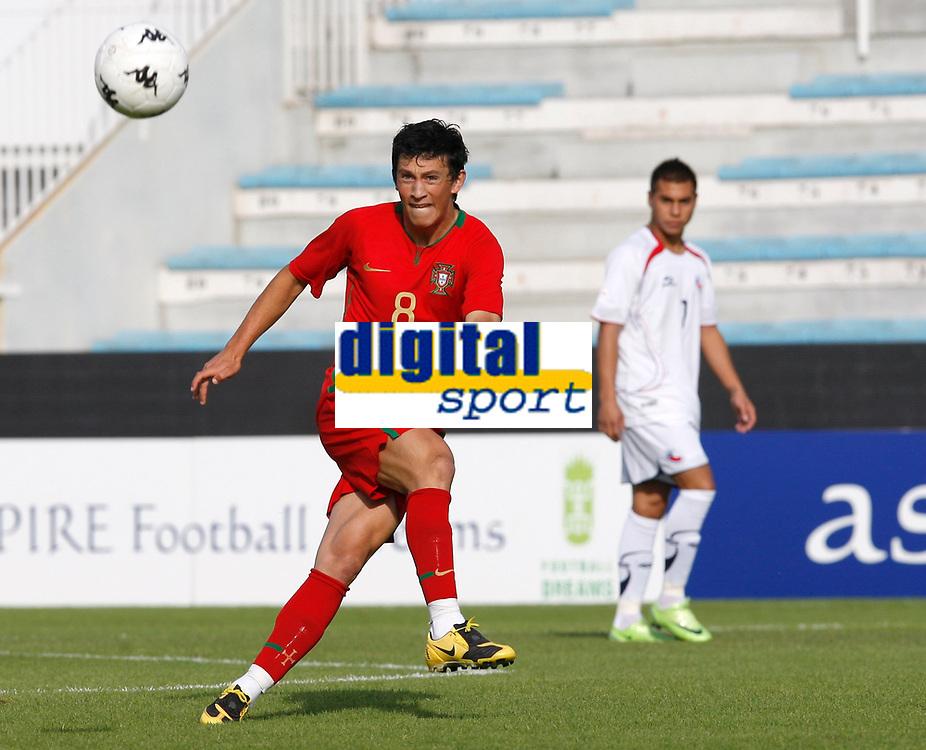 Fotball<br /> Portugal<br /> Foto: DPPI/Digitalsport<br /> NORWAY ONLY<br /> <br /> FOOTBALL - UNDER 21 - INTERNATIONAL TOULON FESTIVAL - PORTUGAL v CHILE - 4/06/2009<br /> <br /> CASTRO (POR)