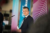 DEU, Deutschland, Germany, Berlin, 27.10.2020: Thorsten Frei, stv. Vorsitzender der CDU/CSU-Bundestagsfraktion, bei einem Pressestatement im Deutschen Bundestag.