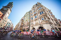 MADOUAS Valentin of France, DUNBAR Edward of Ireland during the Men Under 23 Road Race 179.9km Race from Kufstein to Innsbruck 582m at the 91st UCI Road World Championships 2018 / RR / RWC / on September 28, 2018 in Innsbruck, Austria.  Photo by Vid Ponikvar / Sportida
