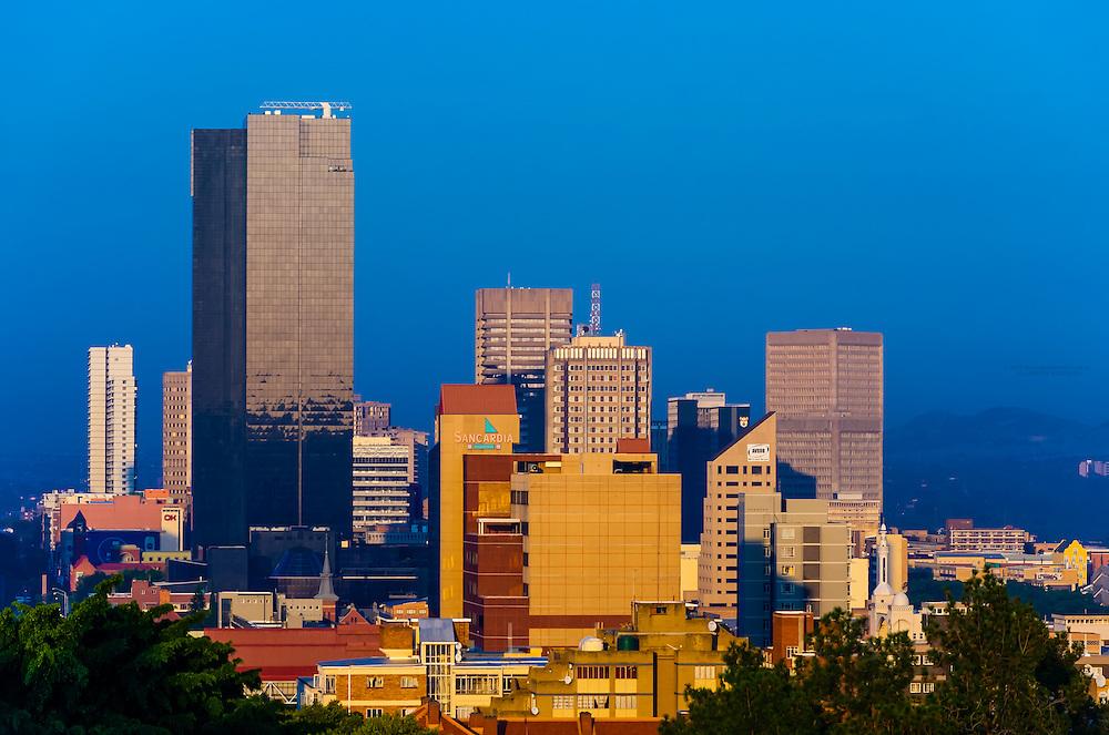 Central Business District, Pretoria (Tshwane), South Africa.