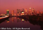 Philadelphia Skyline, Schuylkill River