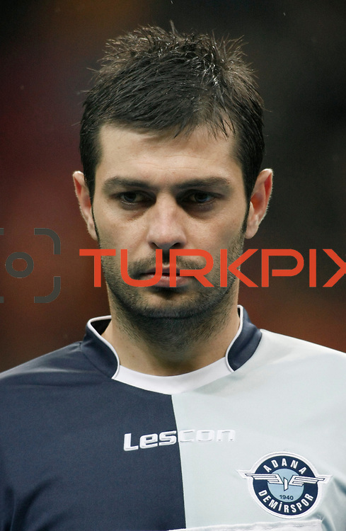 AdanaDemirspor's Lutfi Tanil Ozer during their Turkey Cup matchday 3 soccer match Galatasaray between AdanaDemirspor at the Turk Telekom Arena at Aslantepe in Istanbul Turkey on Tuesday 10 January 2012. Photo by TURKPIX
