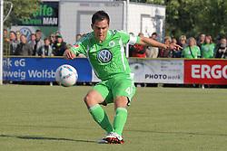 24.06.2011 Sportplatz, Gifhorn, GER, FSP, 1.FBL, VFL Wolfsburg vs Neudorf-Platendorf im Bild Marcel Schäfer / Schaefer (Wolfsburg GER#4) © nph / Rust       ****** out of GER / SWE / CRO  / BEL ******