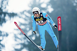20.12.2014, Gross Titlis Schanze, Engelberg, SUI, FIS Weltcup Ski Sprung, Engelberg, im Bild Vincent Descombes Sevoie, Frankreich, // during mens FIS Ski Jumping World Cup at the Gross Titlis Schanze in Engelberg, Switzerland on 2014/12/20. EXPA Pictures © 2014, PhotoCredit: EXPA/ Eibner-Pressefoto/ Socher<br /> <br /> *****ATTENTION - OUT of GER*****