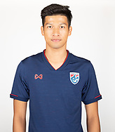 THAILAND - MARCH 18: Tanaboon Kesarat of Thailand National Football Team Photoshoot on March 18, 2019.<br /> .<br /> .<br /> .<br /> (Photo by: Naratip Golf Srisupab/SEALs Sports Images/MB Media Solutions)