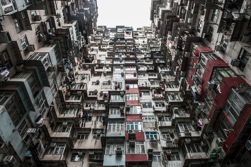 Yik Cheong Building Quarry Bay / Monster Building<br /> <br /> Also known as the 'Monster Building' for its conglomeration of five incredibly dense and stacked residential complexes, Yik Cheong Building and Montane Mansion are the most well known locations in Quarray Bay and one of the most Instagrammed spots in Hong Kong. A perfect reflection of city's famed urban density, the photogenic architecture has also been featured Hollywood blockbusters including Ghost in the Shell