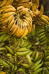 South America, Ecuador, Pujili, bananas at weekly outdoor food market
