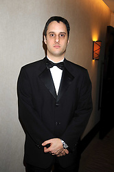 Poet ADAM FOULDS at the 2008 Costa Book Awards held at the Intercontinental Hotel, Hamilton Place, London on 27th January 2009.
