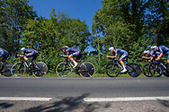 Alpecin-Fenix team during the Tour of Britain 2021 third stage between Ysgol Bro Dinefwr and National Botanic Garden of Wales in Carmarthenshire, , United Kingdom on 7 September 2021.