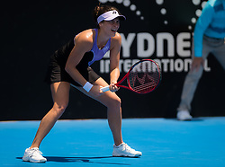January 8, 2019 - Sidney, AUSTRALIA - Tatjana Maria of Germany in action during her first-round match at the 2019 Sydney International WTA Premier tennis tournament (Credit Image: © AFP7 via ZUMA Wire)