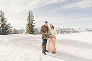 Congratulations to Shannon & James on their winter wedding at the top of Aspen Mountain, Colorado.