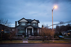 A house owned by Huawei Technologies chief financial officer Meng Wanzhou and her husband, is seen in Vancouver, BC, Canada on Monday, December 10, 2018. The United States is showing its hostility toward Chinese tech giant Huawei by speculating one of its senior executives has avoided travelling there to dodge charges, a lawyer argued Monday at B.C. Supreme Court. Photo by Darryl Dyck/CP/ABACAPRESS.COM