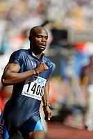 Friidrett, 23. august 2003, VM Paris,( World Championschip in Athletics),  Calvin Harrison, USA på 400 meter