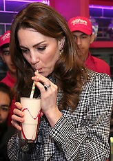 William and Kate make milkshakes at MyLahore - 16 Jan 2020