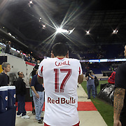 Tim Cahill, New York Red Bulls, after his sides 5-4 defeat during the New York Red Bulls Vs Chicago Fire, Major League Soccer regular season match won 5-4 by the Chicago Fire at Red Bull Arena, Harrison, New Jersey. USA. 10th May 2014. Photo Tim Clayton