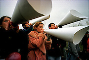 Anti President Milosevic demonstration