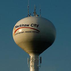 Mackinaw City Water tower