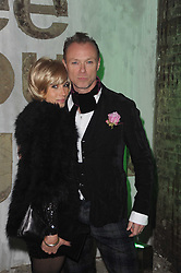 GARY & LAUREN KEMP at the launch of 2 collections by jeweller Stephen Webster - ÔThe 7 Deadly SinsÕ and ÔNo RegretsÕ held at The Old Vics Tunnels, Under Waterloo Station, Off Leake Street, London SE1 on 8th December 2010.<br /> GARY & LAUREN KEMP at the launch of 2 collections by jeweller Stephen Webster - 'The 7 Deadly Sins' and 'No Regrets' held at The Old Vics Tunnels, Under Waterloo Station, Off Leake Street, London SE1 on 8th December 2010.