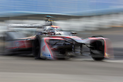 April 14, 2018 - Rome, RM, Italy - E. Mortara of Venturi Racing during Rome E-Prix Round 7 as part of the ABB FIA Formula E Championship on April 14, 2018 in Rome, Italy. (Credit Image: © Danilo Di Giovanni/NurPhoto via ZUMA Press)