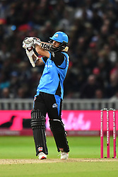 Worcestershire Rapids' Moeen Ali bats during the Vitality T20 Blast Final on Finals Day at Edgbaston, Birmingham.