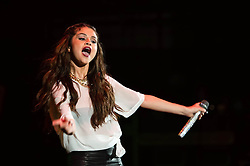© Licensed to London News Pictures. 07/09/2013. London, UK.   Selena Gomez performing live at London Apollo as part of a world tour to promote her debut solo studio album Stars Dance.  Selena Gomez is an American singer and actress.  Photo credit : Richard Isaac/LNP